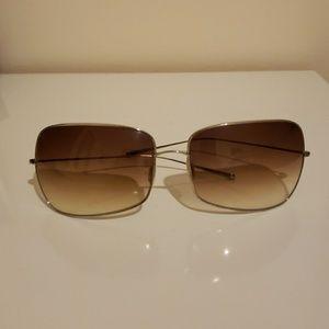 Oliver peoples sunglasses in a sunburst shade lens